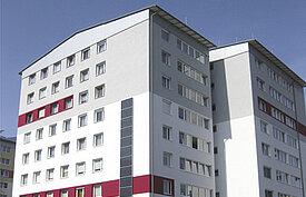 Sanierung nach Niedrigenergiestandard in der Birkenstraße