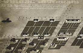 Werbepostkarte für die ersten Siedlungen in Oberhaid