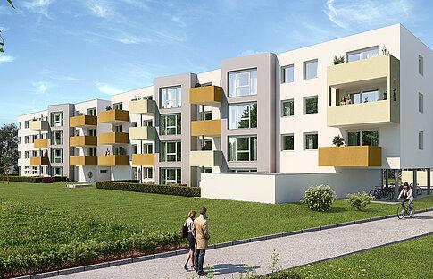 Mietwohnungen Neinergutstraße 7,9 - Wels