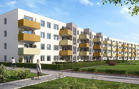 Mietwohungen Neinergutstraße 3 - 5, Wels