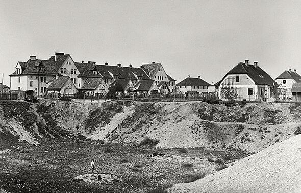 Siedlung Oberhaid Schottergrube