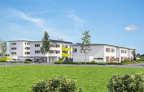 Mietkaufwohnungenm,  Lavendelstraße 2a - 6b, Gunskirchen